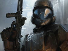 Halo 4 ODST Video Game Art Giant Wall Print POSTER