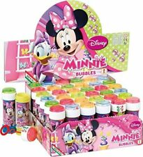 Minnie Mouse bubbles, bubble tub with maze, party bag fillers, multiples of 6