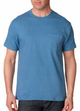 Hanes Men's Classic Left Chest Pocket 100% Cotton Jersey Beefy T-Shirt. 5190