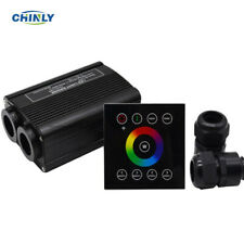 32W RGBW 2.4G wireless wall switch touch controller LED Fiber Optic Engine