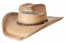 Dallas Hats 8 SECONDS Palm Leaf Straw Western Hat 8SECONDS