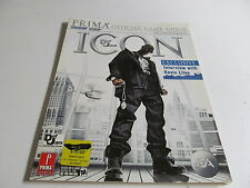 Def Jam Icon Official Strategy Guide Book by Prima Games for PS3 & Xbox 360 Used