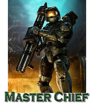 MASTER CHIEF HALO PERSONALIZED T-SHIRT CHILD SIZE Youth  XL