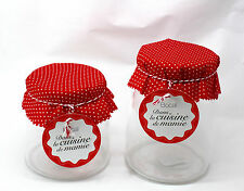 17cm x 13cm Apothecary Jars Candy Lolly Buffet Glass Jar Wedding Party & Scoops