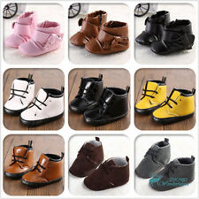 Many Newborn Boy Girl Baby Shoes Toddler Infant Anti-Slip Soft Sole Winter Boots