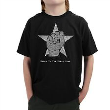 Boy's T-shirt - Steve Jobs - Here's to The Crazy One's