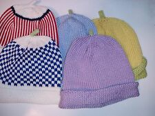 Crochet Hat Newborn Baby Knit Girl Boy Toddler Infant Cap Beanie