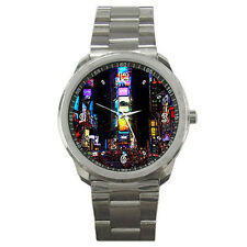 New New York Times Square Sport Metal Watch Free Shipping