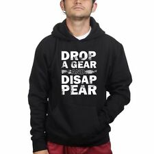 Drop A Gear Motorcycle Sweatshirt Hoodie - Moto GP Superbike