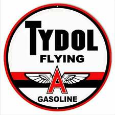 Tydol Flying A Gasoline Embroidered Mens Polo Shirts S-6XL Atlantic ARCO New!
