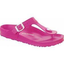 Birkenstock GIZEH Ladies EVA Buckle Comfort Summer Casual Toe Post Sandals Pink