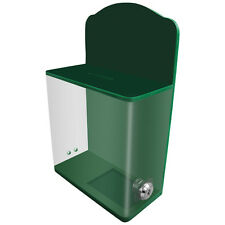Acrylic Donation Box Fundraising Box Charity Box Suggestion Box With Lock AC-04