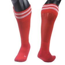 Meso Unisex Youth&Adult 1 Pair Knee High Sports Socks Striped 3 Sizes+Free S/H!