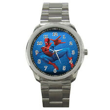New Spiderman Sport Metal Watch Free Shipping