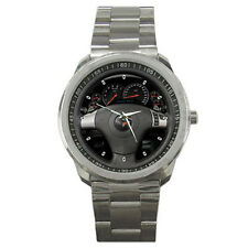 New 2011 Chevrolet Corvette Steering Wheel Sport Metal Watch Free Shipping