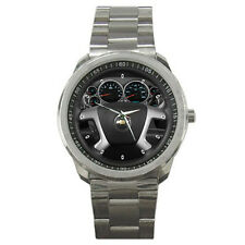 New 2011 Chevrolet Silverado 1500 Steering Wheel Sport Metal Watch Free Shipping