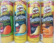 Pringles Tortillas Crisps Chips  NEW ~ Pick One Can