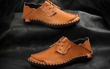 2016 Mens casual Moccasins Loafer lace up real Leather Driving Dress Shoes New