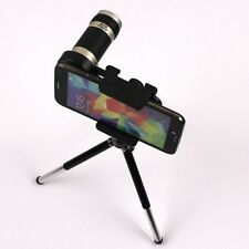 8x Zoom Optical Lens Camera Telescope Tripod For Iphone 7 6 6S SM S8/S8+ S7/Edge