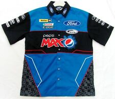 FORD PEPSI MAX FPR PERFORMANCE RACING MENS SHORT SLEEVE BUTTON UP DRESS SHIRT