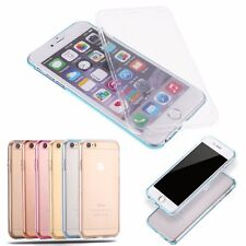 Shockproof TPU 360° Full Body Protective Clear Case Cover For iPhone 6 / 6s Plus