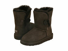 NEW TODDLER UGG AUSTRALIA BOOT BAILEY BUTTON CHOCOLATE BROWN 5991T ORIGINAL