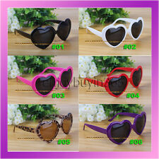 Fashion Retro Funny Summer Love Heart Shape Sunglasses Sun Glasses Gift