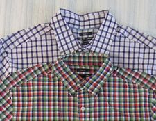NWT GAP Button Down Shirt Men Size M Plaid Classic Fit Casual Dress Shirt