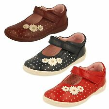 Girls Startrite Leather Shoes, Daisy -w