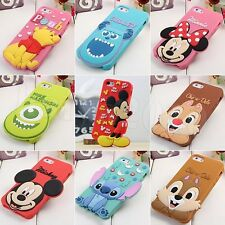 3D Stitch Minnie Mouse Disney Silicone Case Cover For Apple iPhone 4S iPhone 5S