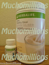 Herbalife Formula 1 Healthy Meal Nutritional Shake Mix + Aminogen. Pick Flavors.