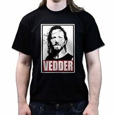 Obey Eddie Vedder Rock Seattle Grunge T-shirt P536