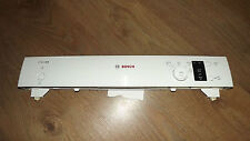 Genuine Bosch dishwasher complete top panel with PCB SMS40C02GB/07
