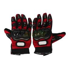 New Motorcycle Bicycle Riding Racing Bike Protective Armor Short Leather Gloves