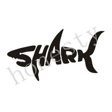 SHARK car stickers cool letter automobile modeling car decoration Decal Sticker
