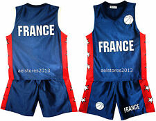 Basketball Summer Shorts Boys New Girl Top Vest Kit Set Age Size 3-14 Years Bnwt