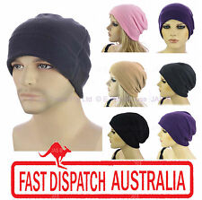 Ladies Men Boy Girl Soft Fleece STRETCH Head Cover SKIING SLEEP Cap Beanie Hat