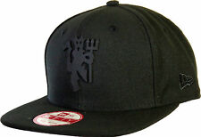 Manchester United All Black Bob Devil New Era 9Fifty Snapback Cap