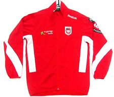ST GEORGE DRAGONS NRL 2013 MENS ADULT RED TRAINING PLAYERS LIGHT WEIGHT JACKET