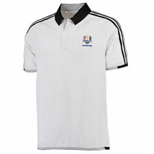 adidas White/Black 2016 Ryder Cup 3-Stripe climachill Competition Polo