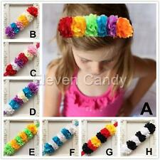 Girls Baby Toddlers Flower Headband Hair Accessories Elastic Headwear Headdress