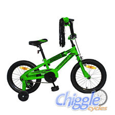 "Cheetah Amigo - 16"" Steel Boys/Kids BMX Bicycle/Bike w/ Training Wheels"