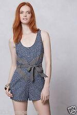 New Anthropologie  Melati Romper By Mah Na Mah Na by Jen Kao Size 8 Jumpsuit