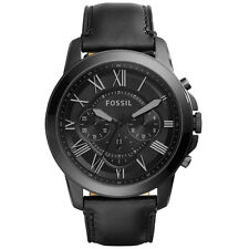 Fossil Casual Analog Mens    Black Watch FS5147SET