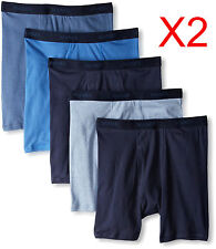 Hanes Men's 10 Pack Ultimate Dyed Boxer Brief