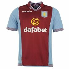 RRP £55 Mens Macron Aston Villa Football Home Jersey t-shirt top size XL XXL