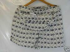 LACOSTE WOMEN'S FASHION SHOW COLLECTION SHORTS BUM BAG BNWT 8 10 14 HIGH QUALITY