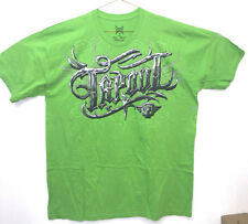 Tap Out TAPOUT UFC, Officially Licensed Bright Green Logo Design T Shirt T-Shirt