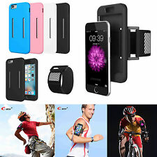 Jogging Sports Running Gym Armband Holder Cover Case For Apple iPhone 6 6S Plus