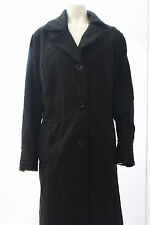 New Dollhouse Black, Ivory, Grey Double Breasted Coat Plus Size 1X, 2X, 3X